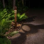 Celtic Design 2x2 Light Bollard Path Light
